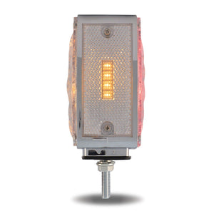 Super Diode Double Face Double Post Square Clear LED - Driver Side (38 Diodes)