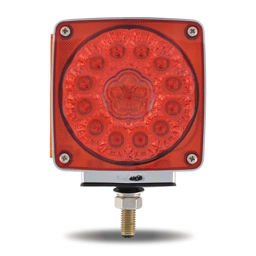 Super Diode Double Face Single Post Square LED - Driver Side (38 Diodes)
