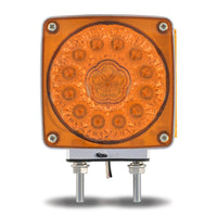 Super Diode Double Face Double Post Square Amber LED - Passenger Side (38 Diodes)