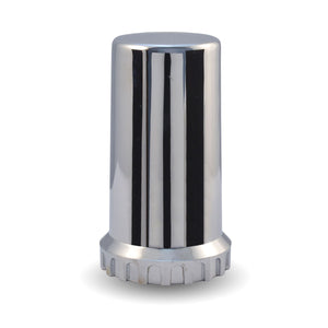 Long, Threaded - 33mm Chrome Plastic Nut Cover (Most USA trucks, needs spare thread))