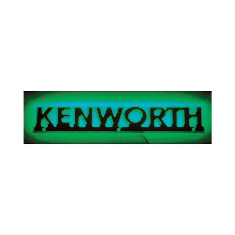 Stealth Green Kenworth Logo - Name Cut Out