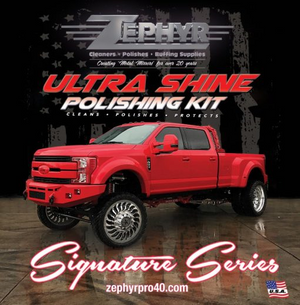 Ultra Shine Signature Series Polishing Kit (Pro 25)