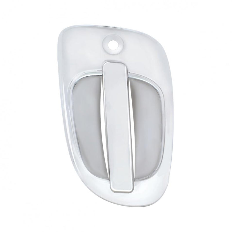 FL DOOR HANDLE EXTERIOR COVER CHR. PLASTIC  (PASSENGER)