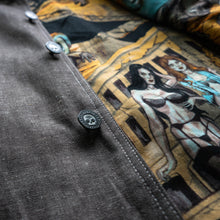 "Load image into Gallery viewer, ""Dessert Sands"" denim jacket"