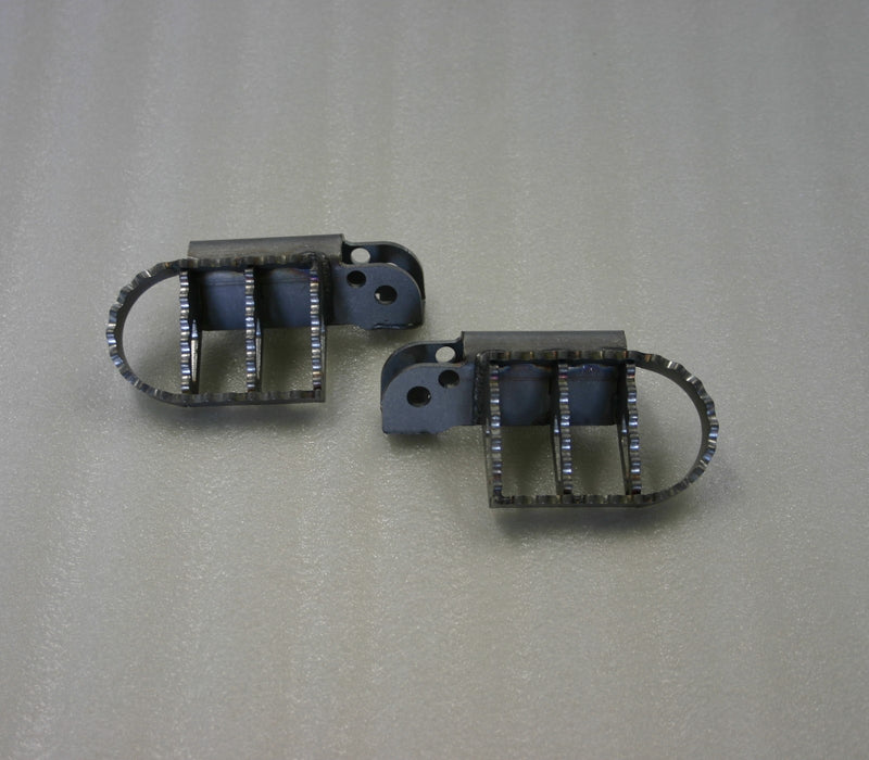 A080100 - KTM Pillion Wide Foot Peg - Stainless