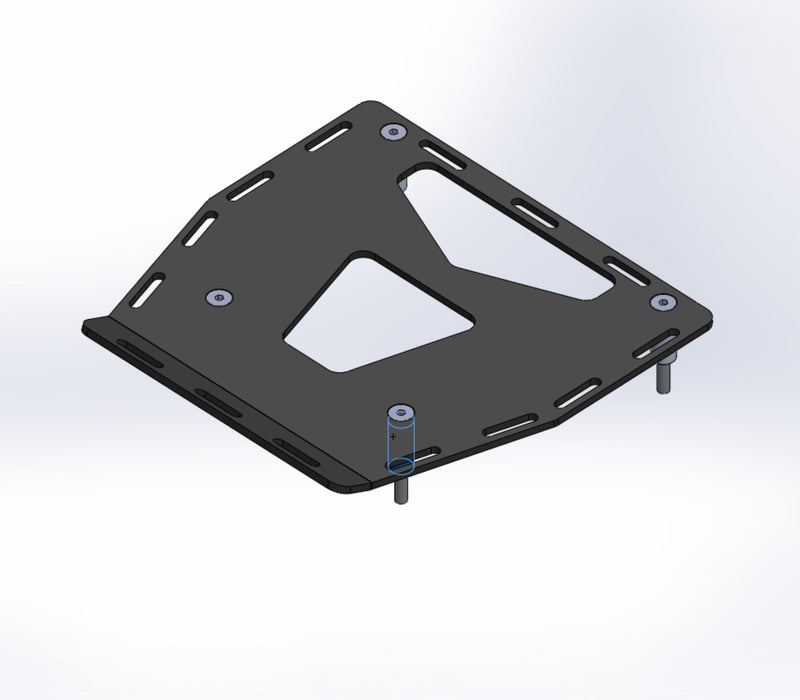 A080250 - KTM Luggage Rack - Standard
