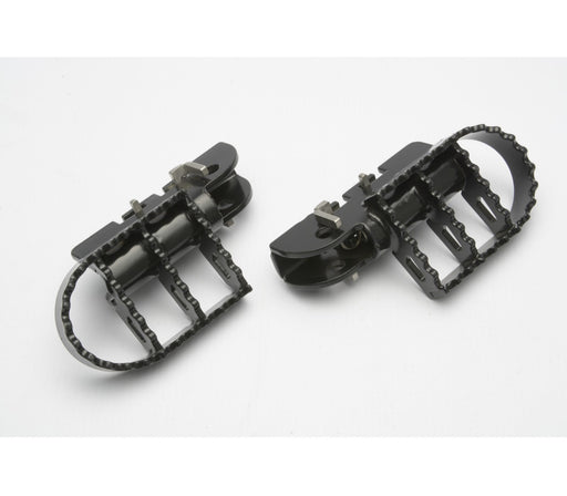 A090078 - BMW Pillion Wide Foot Pegs - Black