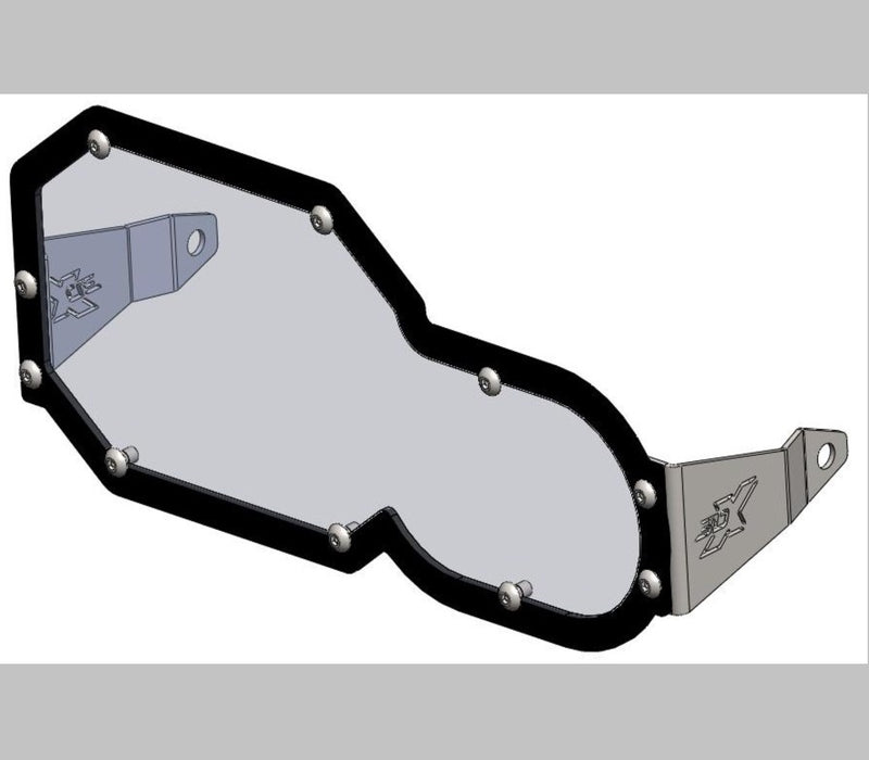 A090090 - BMW Headlight Guard Polycarb