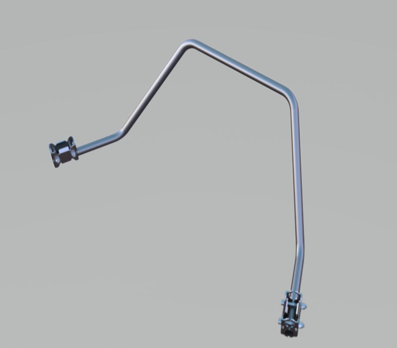 A090770 - BMW OE Upper Crash Bar Support Bracket