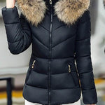 Winter Thick Warm Wadded Parka Slim Short Coat