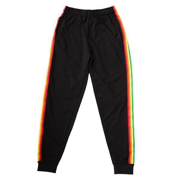 RAINBOW STRIPE PANTS