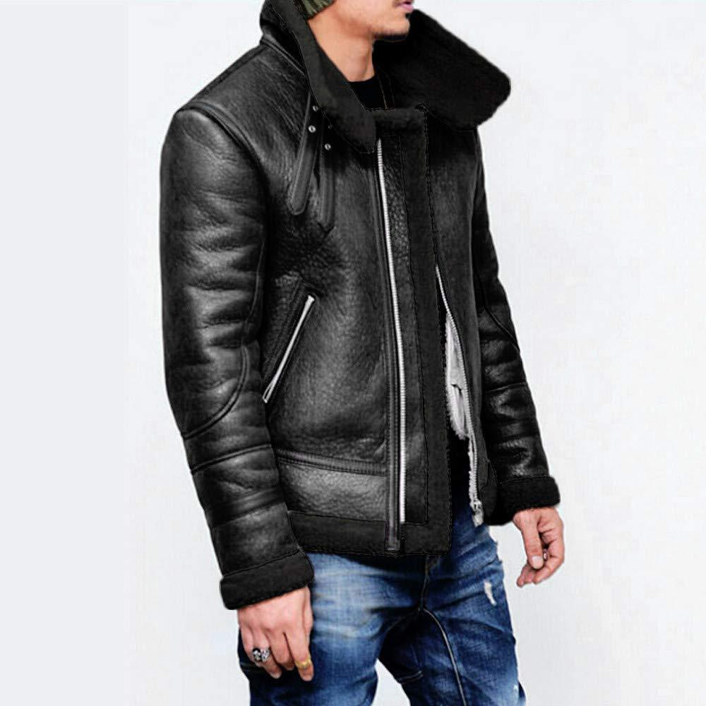 Men Genuine Leather Coats