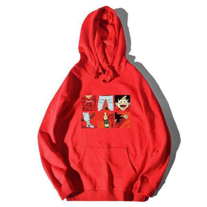 Dragon Ball Cartoon Hoodie