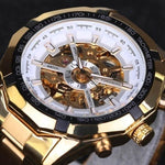 Mens Skeleton Mechanical Watch