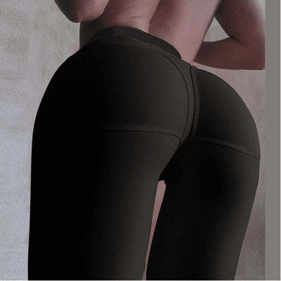 S-XL Women's Package Hip Tight Slim Bodycon Bandage Trousers Yoga Leggings