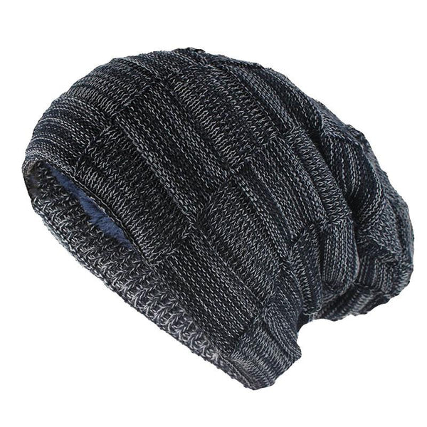 ... Hat for Men and Women Winter Warm Hats Knit Slouchy Thick Skull Cap ... 16e7525dc81