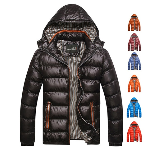 Winter Men Warm Down Jacket