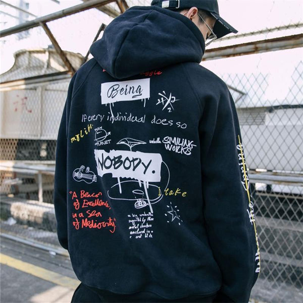 Hip Hop Graffiti Hoodies