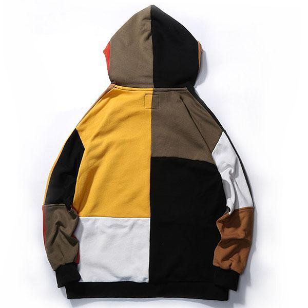 Patchwork Embroidery Hoodies