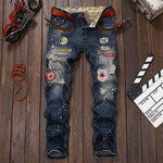 Men Skinny Jean Trousers denim jeans