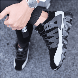 New Men's Fashion Sports Shoes Lightweight Sports Running Shoes Personality Men's Sports Shoes