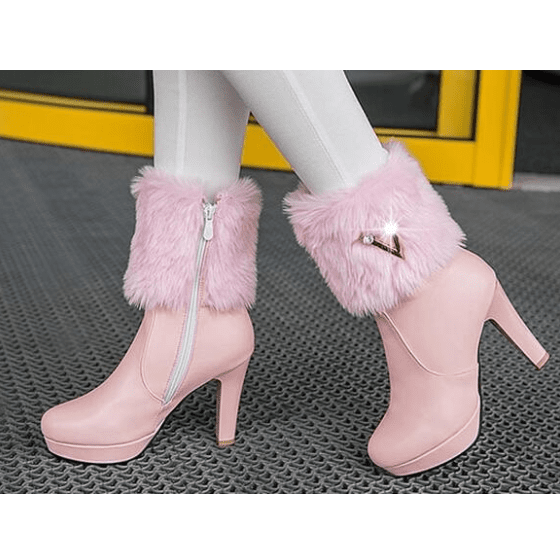 High Heel Female Single Boots