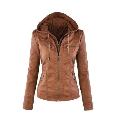 New Arrival Plus Size Women Fashion Autumn Winter Coat Jacket Long Sleeve Zipper