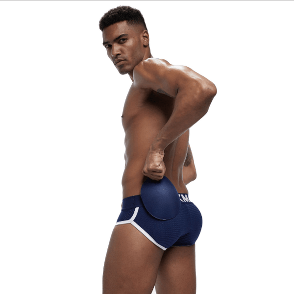 fcd107b2643 (4 pcs)DORIRY New Mesh Breathable Men s Underwear Front Cover Cup + Rear  Pad ...