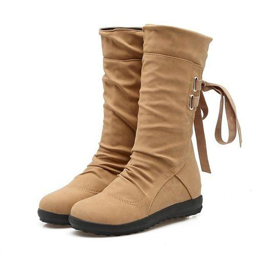 Elegant Fashion Women Autumn Winter Boots