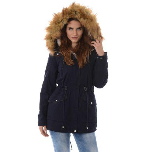 New Winter Womens Parka Casual Outwear Military Hooded Coat