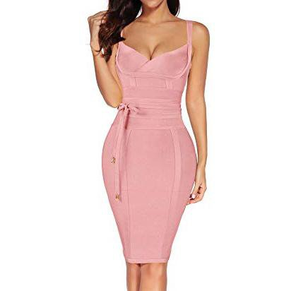 Women's Celebrity Bandage Bodycon Dress