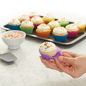 Reusable Silicone Baking Cups Cake Cups-Kitchen & Dining-doriry.com-