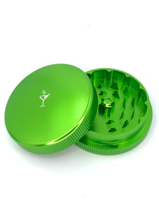 PocketTumbler™ 2 Piece Herb Grinder- Green