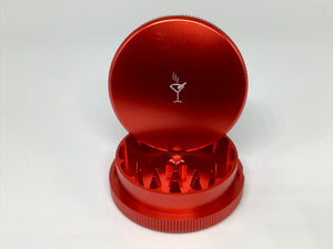 PocketTumbler™ 2 Piece Herb Grinder- Red