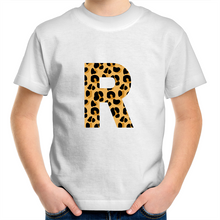Load image into Gallery viewer, Leopard print R t-shirt