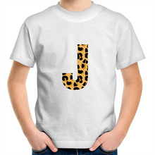 Load image into Gallery viewer, Leopard print J t-shirt