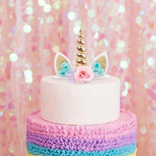 Load image into Gallery viewer, unicorn cake topper