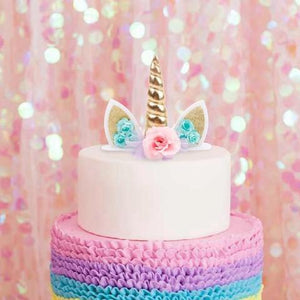 unicorn cake topper