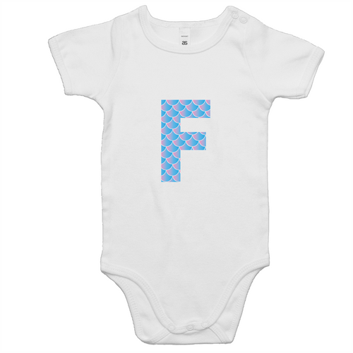 Mermaid F onesie