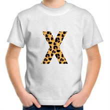 Load image into Gallery viewer, Leopard print X t-shirt