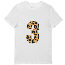 Load image into Gallery viewer, Leopard print 3 t-shirt