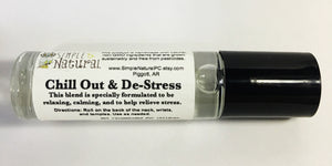 Chill Out & De-Stress - Essential Oil Roll On