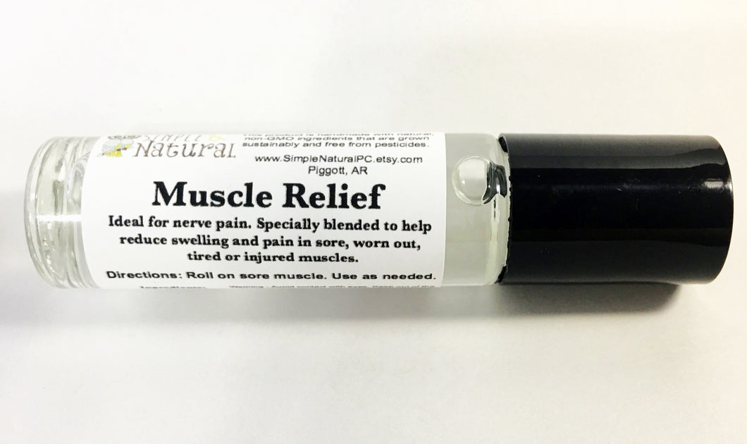 Muscle Relief - Essential Oil Roll On