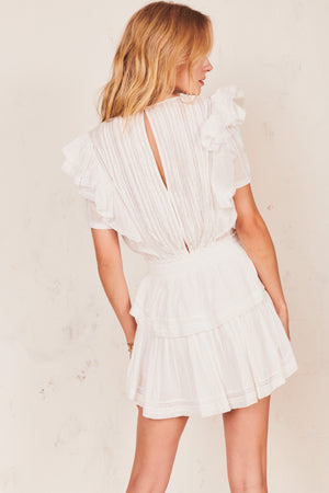NATASHA DRESS | WHITE