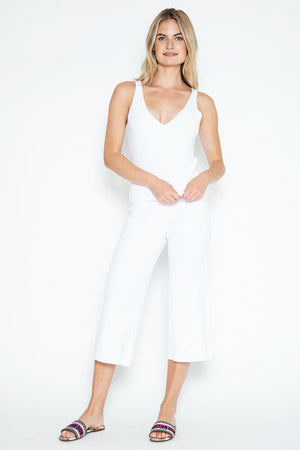 One Grey Day Ophelia Pant | White