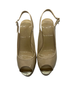 WEDGED SANDALS | TAN