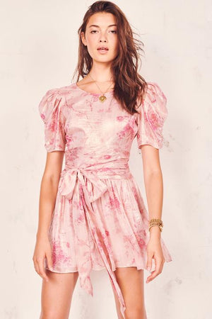 MERCY DRESS | PALE ROSE PINK
