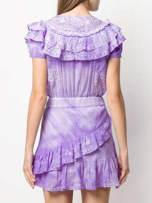 Lavender Cotton Dress