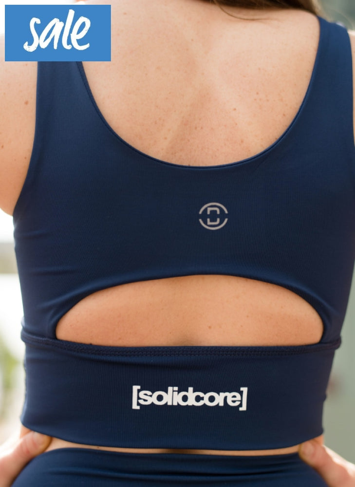 Dyi Elevate Bra - Navy/white Back Logo