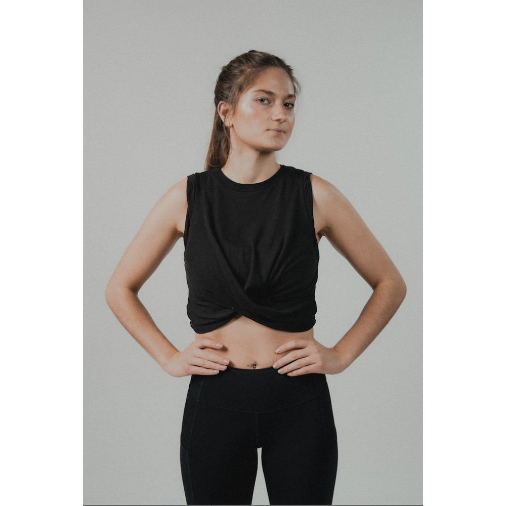 Free People Under Tow Tank - Black